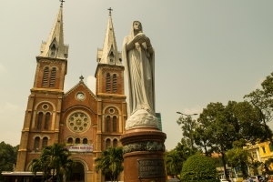 Notre Dame Cathedral, Ho Chi Minh City, Vietnam.