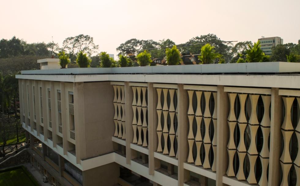 Reunification Palce Exterior, Ho Chi Minh City, Vietnam