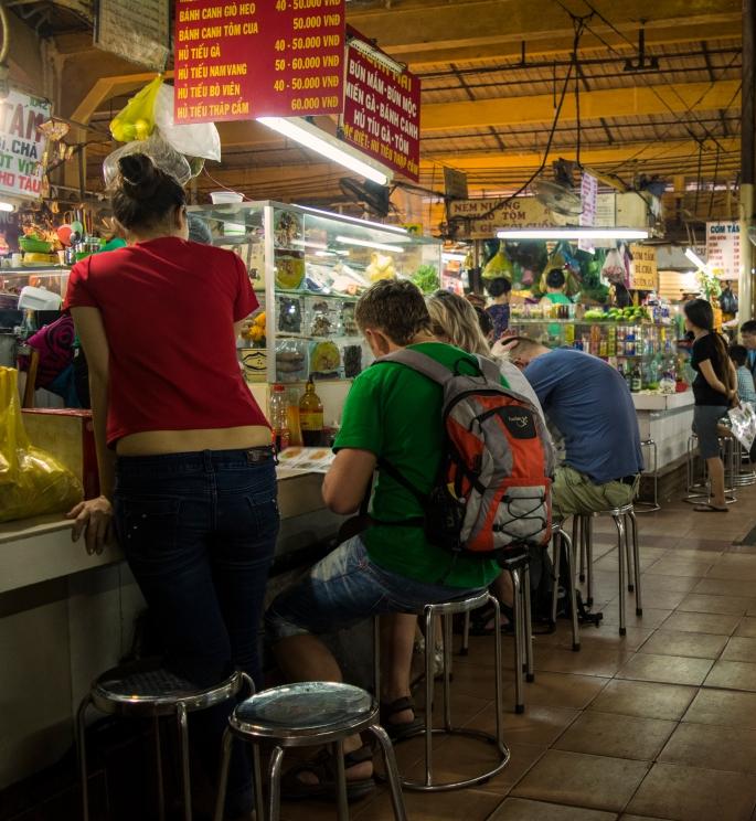 Food Section, Bến Thành Market, Ho Chi Minh City, Vietnam